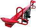 Spring-Based Teeter Totters and See Saws with 2 Seats